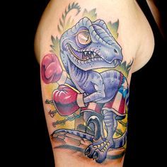 Elimination Tattoo: New School Dinosaurs
