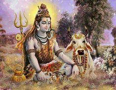 Shivji with Nandi