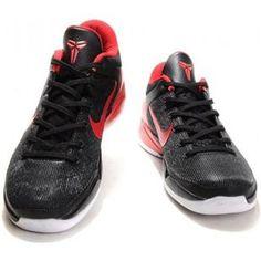 http://www.asneakers4u.com/ Nike Zoom Kobe 7 VII Black/Varsity Red/White Sale Price: $67.00