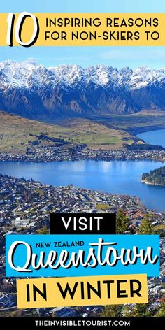 Seeking New Zealand itinerary inspiration? These things to do besides skiing will convince you why visiting Queenstown in winter is amazing! Brisbane, Melbourne, Sydney, New Zealand Itinerary, New Zealand Travel Guide, New Zealand Winter, Travel Destinations, Travel Tips, Travel Articles