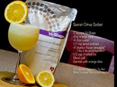 secret citrus sorbet