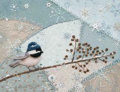 Plays With Needles: Winter Wonderbird - and wonderful snowflakes