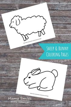 Task Shakti - A Earn Get Problem Bunny And Sheep Coloring Pages To Celebrate Spring, Plus A Fun Multi-Sensory Way To Decorate Them With Toddlers And Preschoolers. Easter Activities For Kids, Spring Activities, Easy Crafts For Kids, Sensory Activities, Infant Activities, Kid Crafts, Bunny Coloring Pages, Coloring Pages For Kids, Free Coloring