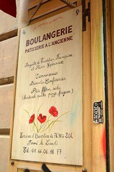 My favorite Sunday breakfast boulangerie: Coquelicot, rue des Abbesses, Paris