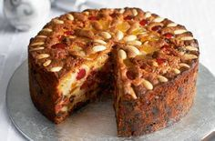 Mary Berry's Victorian Christmas cake recipe: not a fan of the dark, dense Christmas cakes covered in icing? Mary Berry's Victorian version is lighter in texture and gorgeously decorated with nuts and dried fruits.