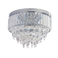 Buy collection olivia 3 light ceiling fitting clear chrome at buy collection olivia 3 light ceiling fitting clear chrome at argos your online shop for ceiling and wall lights lighting home and ga aloadofball Image collections