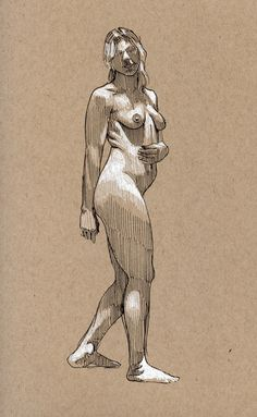 sketch by Paul Heaston