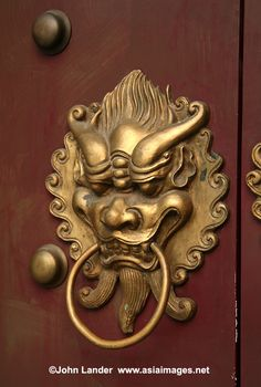 LOVE These Chinese Door Knockers For Zhangs Asian Bistro | Architecture |  Pinterest | Doors, Asian And Passive House