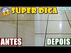 COMO LIMPAR PISO E DEIXAR BRILHANDO COMO NOVO #VEDA14 - YouTube