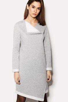 Knit Fashion, Fashion Looks, Womens Fashion, Mom Outfits, Summer Outfits, Big Size Dress, Dress Robes, Contemporary Fashion, Winter Dresses