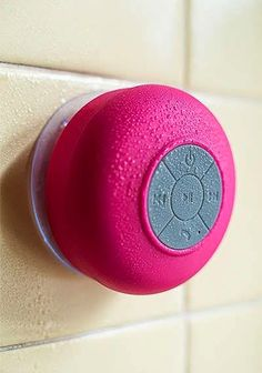 Bluetooth Shower Speaker I do still like gadgets. Things To Buy, Things I Want, Stuff To Buy, Shower Speaker, Take My Money, Gadgets And Gizmos, Useful Gadgets, Cheap Gadgets, Music Gadgets