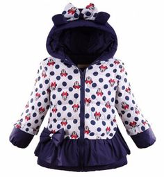 Products: coats Color:navy blue Material:down duck Hood: Yes Filling:cotton white filling Collar: turtle neck Sleeve: long sleeve Closure: zipper Pattern/Design:polka dot Available...@ artfire