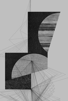 shapes on gray