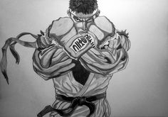 Ryu (Street Fighter V) by Ionuț Scurtu (Shortie)