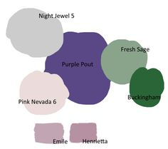 Pantone color of the year 2018 Ultra Violet in interior design Colour palette paint dulux annie sloan chalk paint purple green grey pink