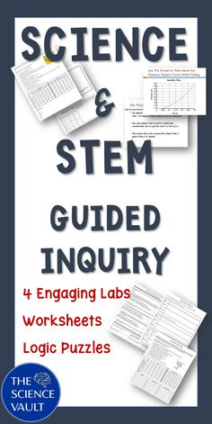 Engaging labs requiring few supplies teach students about variables, controls, and constants through an inquiry lens. Science Resources, Science Ideas, Science Experiments Kids, Science Lessons, Teaching Resources, Teaching Ideas, Stem Science, Physical Science, Life Science