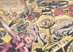 Eternals #1 by Jack Kirby
