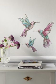 Buy Hummingbird Wall Sticker online today at Next: Australia