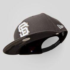 Upper Playground - SF Giants New Era Snapback Cap in Gray / Urban Camo