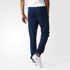 adidas Premium Essentials Sweat Pants - Blue   adidas UK