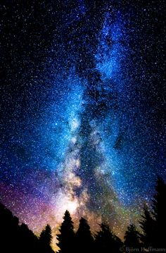 A Billion Stars by Björn Hoffmann on Night Sky Wallpaper, Wallpaper Space, Scenery Wallpaper, Galaxy Wallpaper, Wallpaper Backgrounds, Galaxy Painting, Galaxy Art, Night Sky Painting, Beautiful Nature Wallpaper