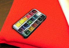 Watercolor Set iPhone 4 iPhone 4S Case by birdspace on Etsy, $14.79