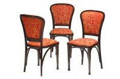 Set of four Gustav Siegel Side Chairs
