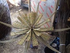 Tom Hare Willow man — More Progress in the workshop … Wild flower heads...