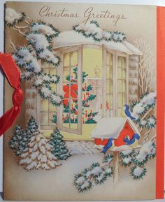 """Shared"" Christmas tree."