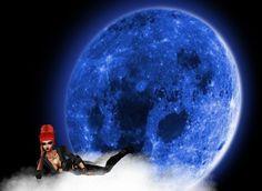księżyc i ja <3