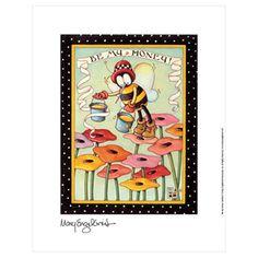 """Be My Honey"" Fine Print - Mary Engelbreit"