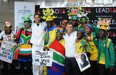 Proud South African's welcome home their Olympic hero's.