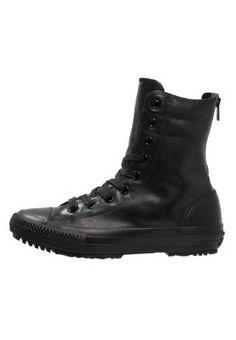 Sneakers hoog Converse CHUCK TAYLOR ALL STAR RUBBER - Sneakers hoog - black Zwart: € 94,95 Bij Zalando (op 27-9-15). Gratis bezorging & retournering, snelle levering en veilig betalen!