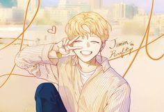 ꒰ 彡pinterest: ♡ ᴱᴬᴿᴬ ♡ 彡 ꒱ Jimin bts fanart Jimin Fanart, Kpop Fanart, Kpop Anime, Sad Anime, Anime Guys, Jikook, Bts Jimin, Anime Boy Hair, Loli Kawaii