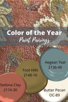 Color of the Year 2021 Aegean Teal Benjamin Moore Paint, Benjamin Moore Colors, Interior Paint Colors, Paint Colors For Home, Warm Paint Colors, Trending Paint Colors, Painting Tips, House Painting, Color Trends