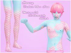 The mermaid skins come in both Custom or Gen&Townie.