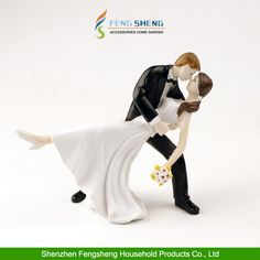Wedding Cake Topper #RomanticDancingCouple Bride and Groom Engagement Party