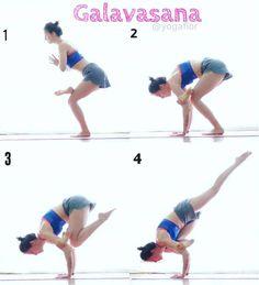 """958 Likes, 21 Comments - Florencia Mompo ૐ (@yogaflor) on Instagram: """"#Galavasana #flyingpigeonpose 1.De pie en #tadasana, entrar en una media silla al flexionar el pie…"""""""