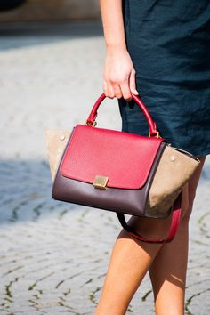 What to carry this spring #bag #badoftheday #baglover #céline #lanvin #dress