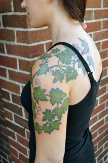 Badass ivy tattoo