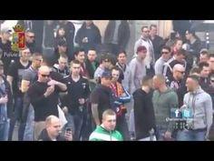 Roma Feyenoord Scontri Polizia - Danni Fontana Piazza di Spagna