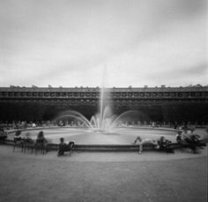 Palais Royal: By Fred De Casablanca, more artworks http://www.artlimited.net/2249 #Photography #Pinhole #Construction #Cityscape #skyline