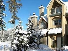 Whistler, British Columbia - 3 level townhouse is in a peaceful location with great uninterrupted views. ID# 201385