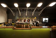Interior design | decoration | restaurant design | Caffe Streets in Chicago by Norsman Architects