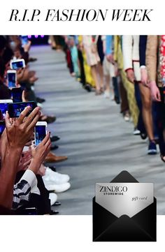 Social media and the digital revolution have left fashion with no choice but to engage the consumer on a buy-now, wear-now basis. Get the look using code RIPFASHW3 for $35 off a $100 purchase, valid 2/16-2/26. #zindigodaily