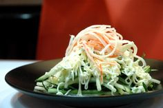 Ramen Oh's refreshing Kani Salad, with shredded crab meat, cucumber and Japanese mayo.