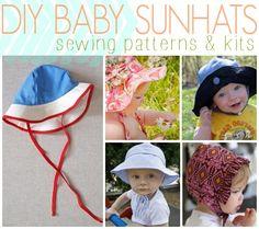 DIY Baby Sunhats: Patterns, Kits & Tutorials