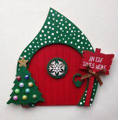 Magical Elf Door Fairy Door Christmas Decoration, Elf Accessories, Elf Watch | eBay