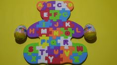 ABC Puzzle - Education Alphabet Puzzle - Beer Puzzle