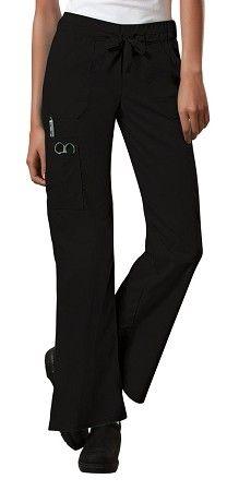 Workwear Women's Moderate Flare Leg Scrub Pant  #fashion #colors #flare #scrubs #scrubpant #pants #nursing #medical #healthcare #professional